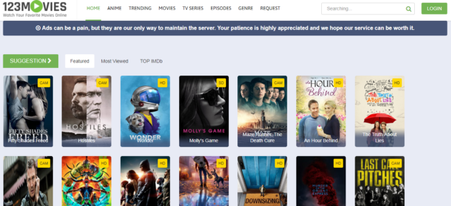 123movies, primewire alternatives