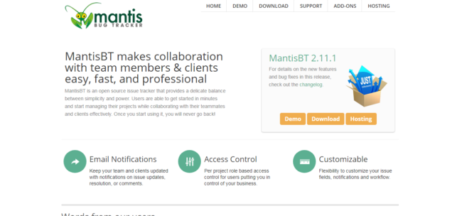Mantis-Bug-Tracker-e1519967522518Top 13 free Jira alternatives for 2019 for agile project management