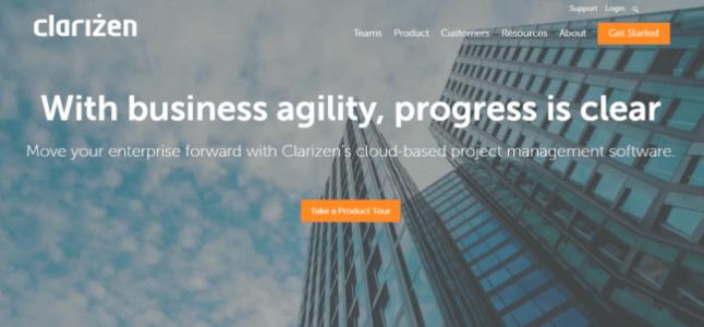 Project-Management-Software-Clarizen-e152065720193019 Free Basecamp alternatives for project management 2019