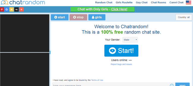 Random gay chat room