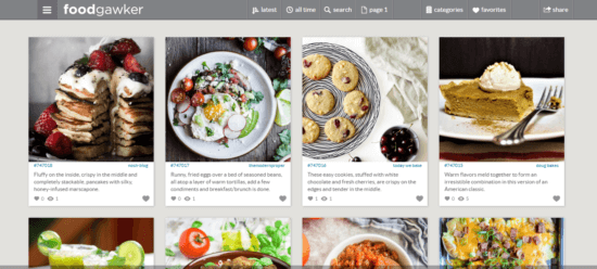 foodgawker sites like Pinterest