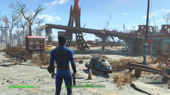 Fallout 4 - games like minecraft free