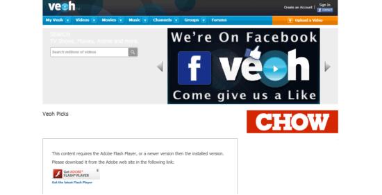 Veoh - best alternative to youtube