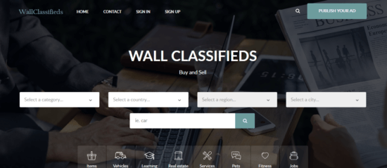 wallclassifieds-e153526675169114 Best Backpage alternatives for free classified listing in 2019
