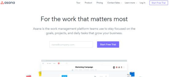 Asana-e1541665357707Top 15+ Yammer Alternatives of 2019