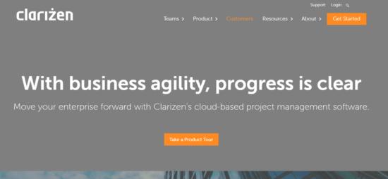 Clarizen-e154166600359010 Best Mavenlink alternatives for task management