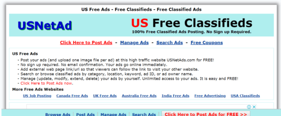 sites like Craigslist