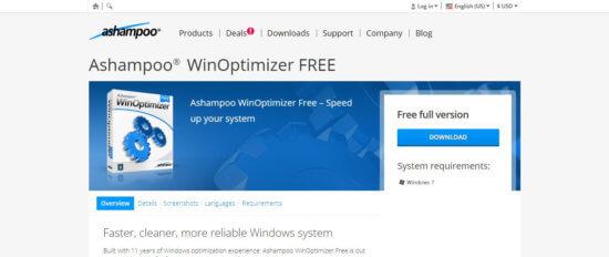 Ashampoo® WinOptimizer