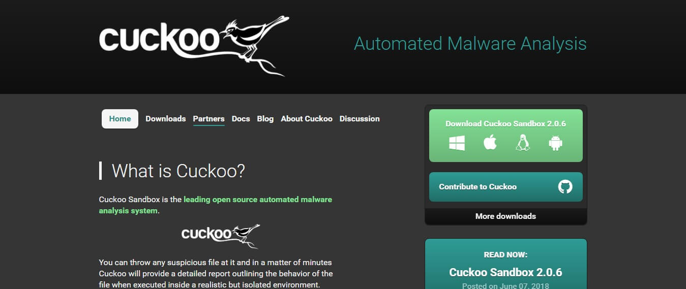 Cuckoo Sandbox - alternatives to Sandboxie