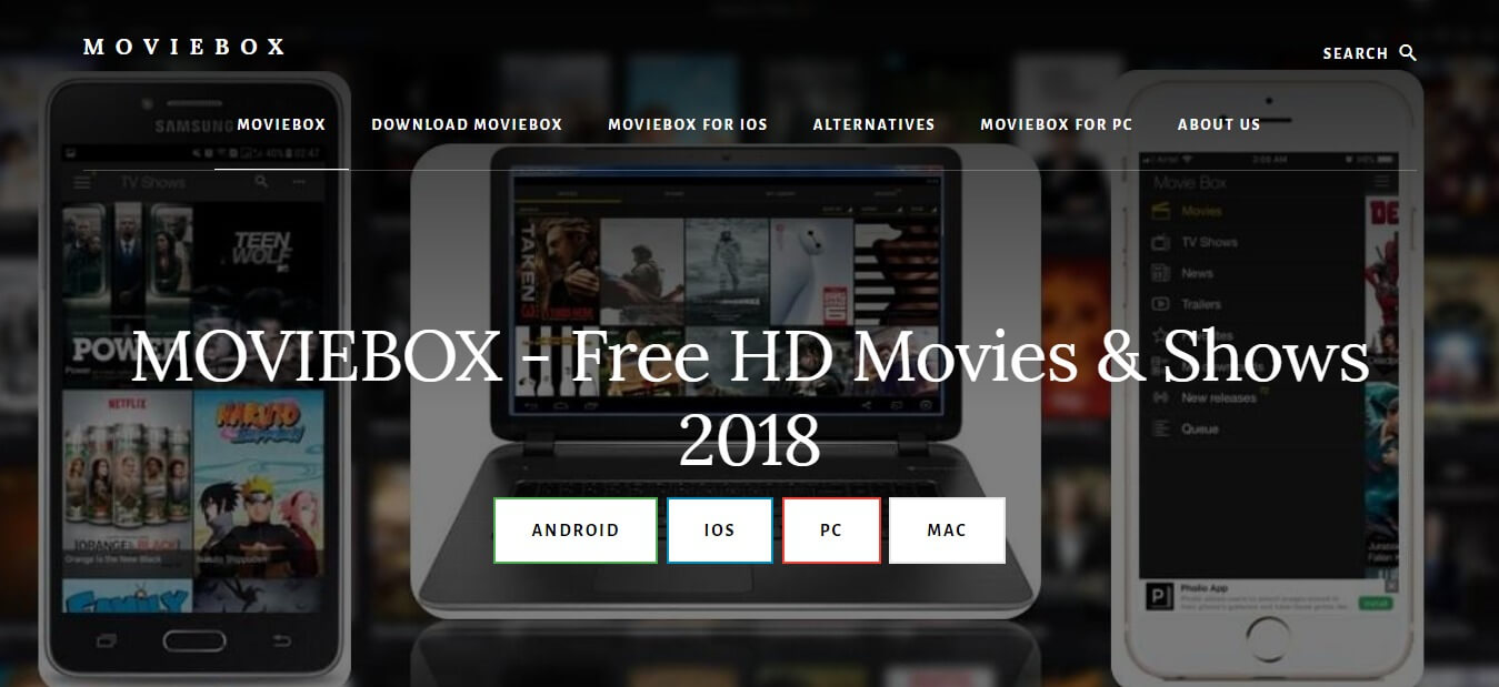 MovieBox, Showbox alternative