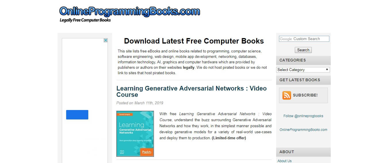 Onlineprogrammingbooks