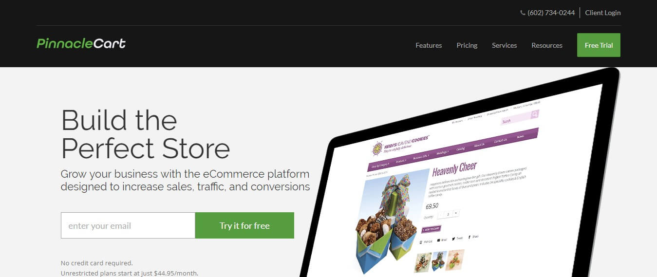 PinnacleCart - shopify alternatives for drop shipping