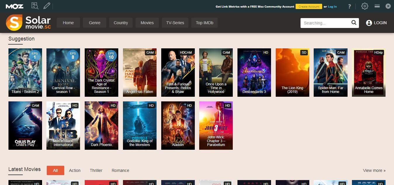 Free 123movies alternatives
