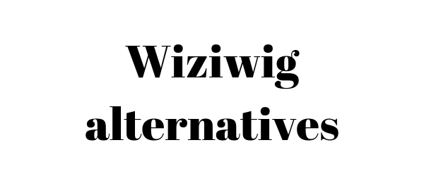 Wiziwig alternatives