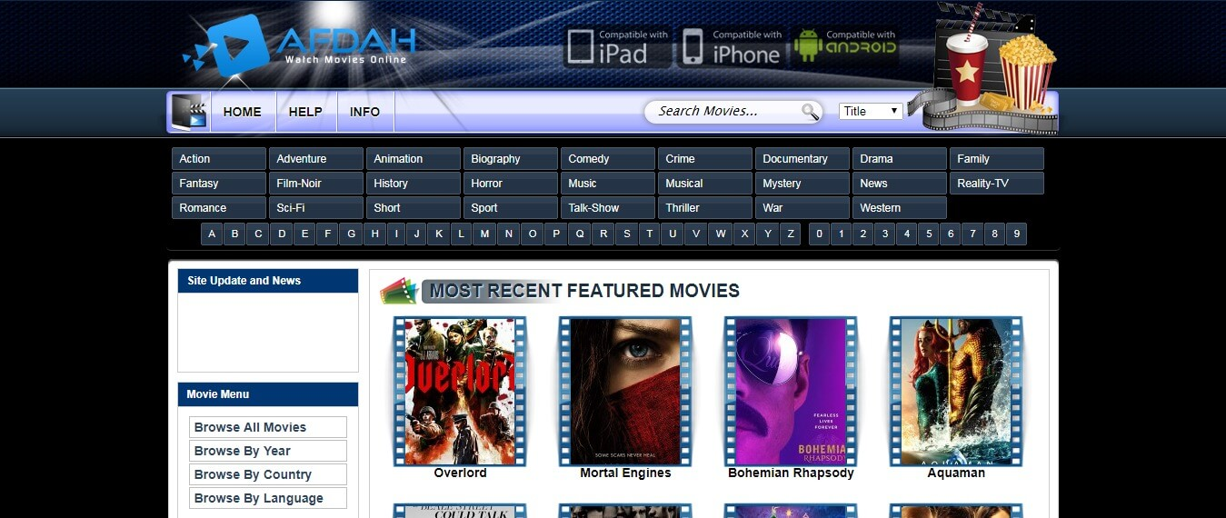 Afdah - Best sites like Primewire