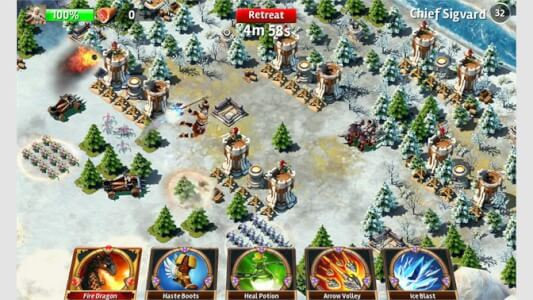 Siegefall - game like Clash of Clans for Ios