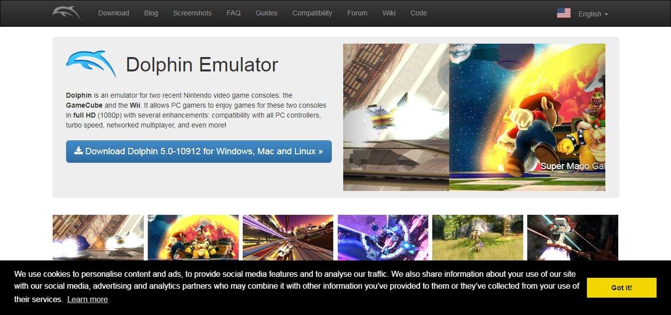Dolphin emulator