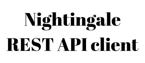 Nightingale REST API client