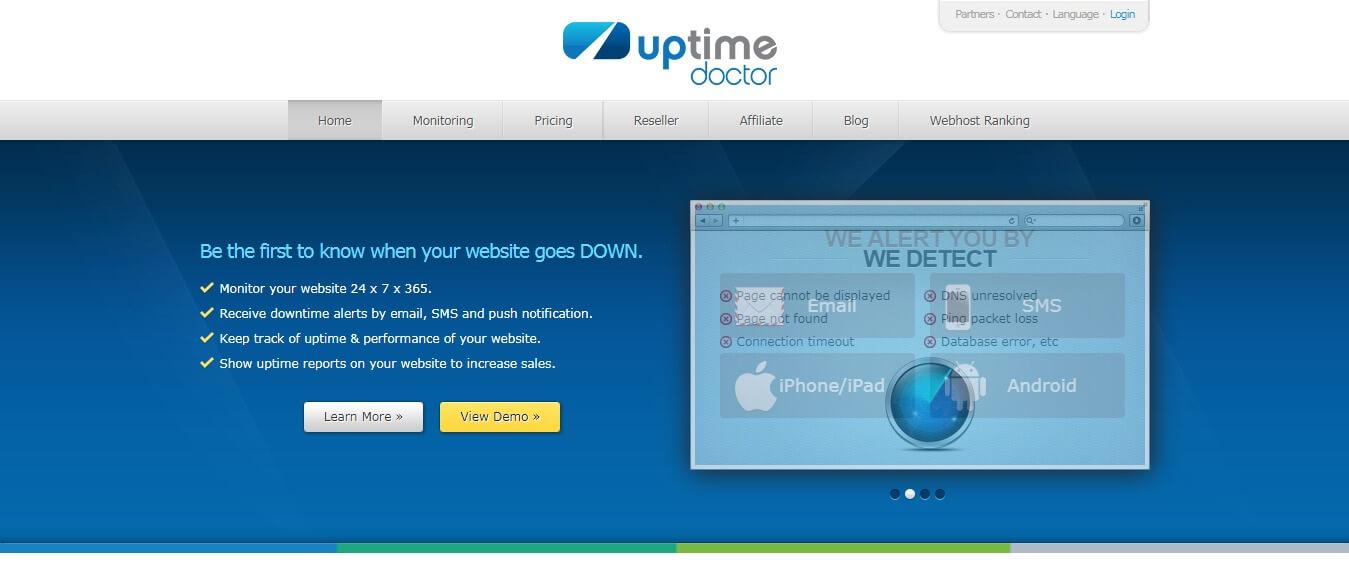 UptimeDoctor - Pingdom alternative for wordpress