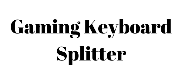 Gaming Keyboard Splitter