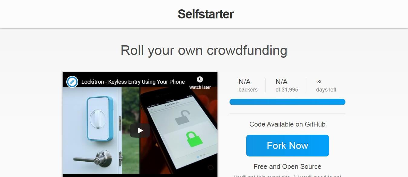 Selfstarter