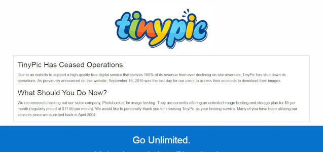 sites like tinypic