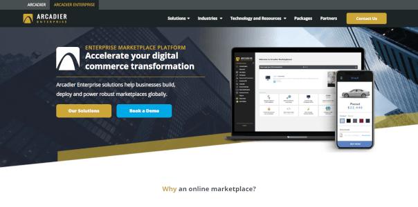 Arcadier Enterprise Marketplaces