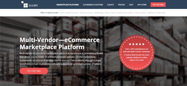 CS-Cart Multi-Vendor