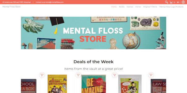 Mental Floss Store
